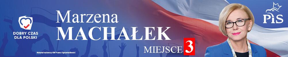 Marzena Machałek - Materiał wyborczy KW Prawo i Sprawiedliwość